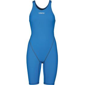 arena Powerskin St 2.0 Short Leg Open - Bañador Mujer - azul